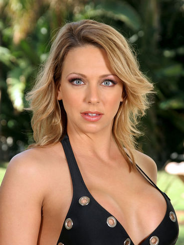 The Incredible Blonde Milf Brianna Beach Is In The Street In Nothing But Black Lingerie