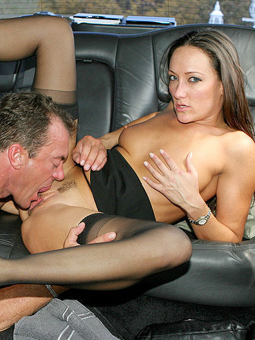 15 images Leggy Mom Michelle Lay In Black Nylon Stockings Has Limo Sex With ...