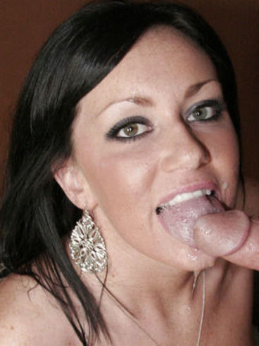 Naughty Black Haired Lady Valerie Luxe In Blue Underwear Gives Blowjob Through The Wall