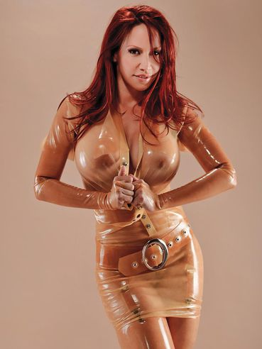 through latex see Bianca beauchamp